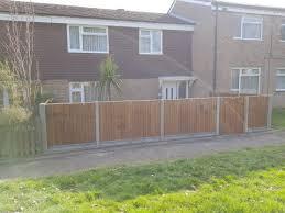 closeboard panels front garden property