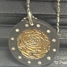 quality advantage 20pcs lot quantum pendant necklace japanese technology rose quantum scalar energy pendant with