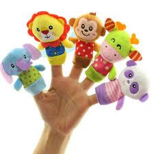 [Little B House] Happy Monkey <b>Animals Finger Puppets</b> Story Telling ...