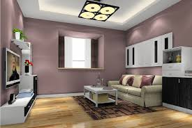 ... Living Room Wall Colors 2017 Living Room Wall Paint Color 3d Rendering  Minimalist Tv Wall Paint ...