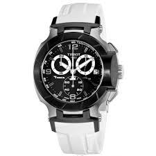 buy men s tissot t race swiss black dial white rubber chronograph men s tissot t race swiss black dial white rubber chronograph techymeter
