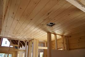 Plywood Plank Ceiling Excellent Wood Plank Ceiling Tongue Groove Especially Cool