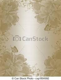 Party Invitation Background Image Wedding Invitation Background Elegant Illustration Embossed Flowers