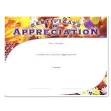 blank certificates appreciation fill in the blank certificates certificate of templates