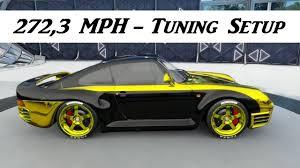 Forza Horizon 3 - Porsche 959 1987 - 272,3MPH Tuning Setup - YouTube