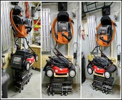 lawn mower garage storage. Garage Storage Lawn Mower Ideas Shed Workshop Grass Cutter Inside