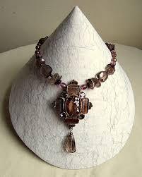Jewelry Stands And Displays Handmade display stands for necklace Display Necklace display 89
