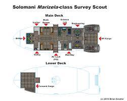 Spaceship Floor Plan