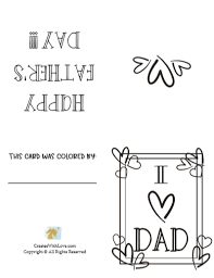 Free printable fathers day cards. 10 Free Printable Fathers Day Cards Creates With Love