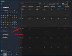 Week Number Calendar Enable Week Numbers For Calendar App In Windows 10