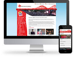 Pne Summer Concert Seating Chart World Exposure Vancouver Web Design Company Responsive