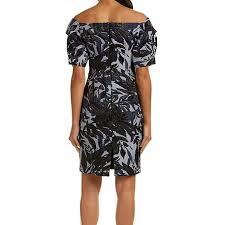 Alton Gray Size Chart Alton Gray Womens Floral Textured Sheath Dress