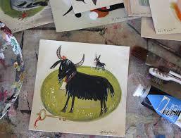 daily art goat