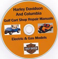 harley davidson other golf cart parts accessories harley davidson columbia golf cart 1963 2003 factory shop repair manual