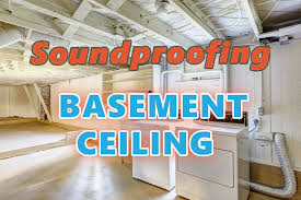 the best and est ways to soundproof a basement ceiling