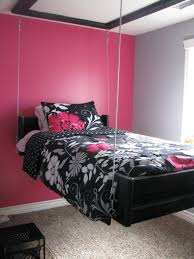 Hot Pink Bedroom Paint Pink And Black Room Decor Ideas