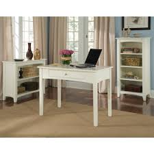 alaterre furniture shaker cottage ivory open bookcase