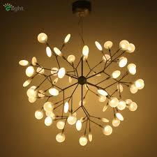 modern metal branch led pendant chandelier light re acrylic dining room led chandeliers lighting led hanging