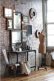 Mirror grouping on wall Gold Framed Love The Idea Of Grouping Mirrors Of Various Sizes Close Together To Make One Big Pinterest 52 Best Mirror Groupings Images Home Decor Bed Room House
