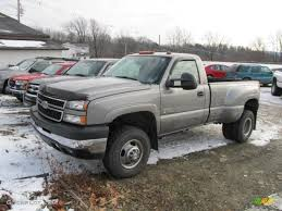 2006 Graystone Metallic Chevrolet Silverado 3500 LT Regular Cab ...