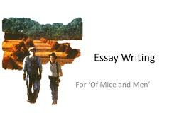 essay writing for     of mice and men      shape of an essay    ppt downloadessay writing for     of mice and men