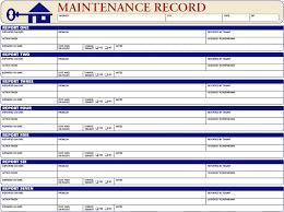 Home Maintenance Log Barca Fontanacountryinn Com