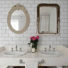 Subway Tile Backsplash Bathroom Urban Grace Interiors New Tile Backsplash In Bathroom