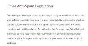 anti spam policies termsfeed