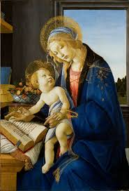 unusually a small madonna all painted by botticelli himself