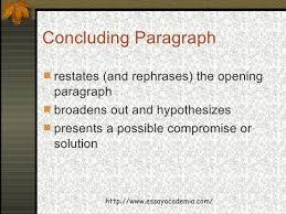 fundamentals of essay writing  10 concluding paragraph