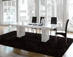 brilliant ideas of white marble dining tables with modern unico detail table qualified 2 modern white dining table2