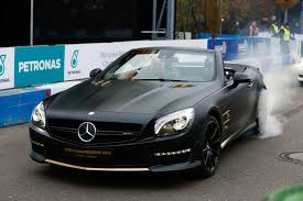 Rolls Out Special SL63 AMGs Celebrating F1 Victory