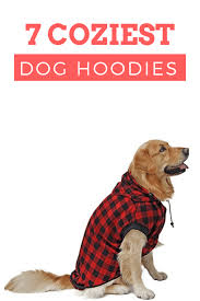 7 Comfiest Coziest Dog Hoodies For Fall Dog Sweater Size