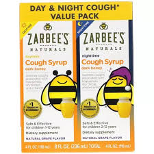 Zarbees Cold <b>Children's Cough Syrup Dark</b> Honey