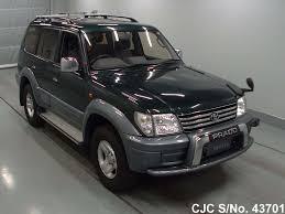 2001 Toyota Land Cruiser Prado Green 2 Tone for sale | Stock No ...