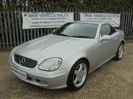 Find the right car for you. Mercedes Slk 320 Proprietor Daniel Wagner T A Dkw Vehicle Sales