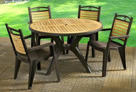 patio furniture chairs natural plastic set table and clearance sale wood58 patio