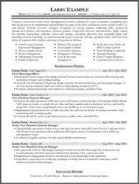 Winning Resume Samples 17 Resumes 2 For Updated Senior Management