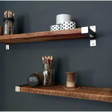 wood floating wall shelves natural wood floating wall shelf