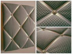 Quilted Memo Board Rm memoboard riviera maison Pinterest 2