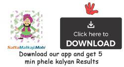 Kalyan Daily Chart Satta Matka Kalyan Matka Fastest Sattamatka Results