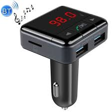 [$15.94] BC12 Dual <b>USB Car Charger Bluetooth</b> FM Transmitter Kit ...