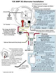 332 428 ford fe engine forum alternator wiring question linked image