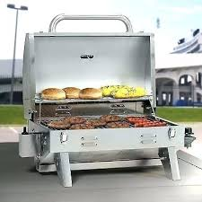 <b>Portable</b> Propane <b>Gas</b> Grill Stainless Steel Barbecue <b>Outdoor Camp</b> ...