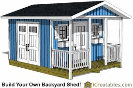 shed plans with porch build your own shed with a porch