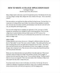 good example of college application essays essay example college penza poisk