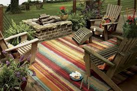 details about mohawk home avenue stripes indoor outdoor printed area rug 5 x8 multicolor