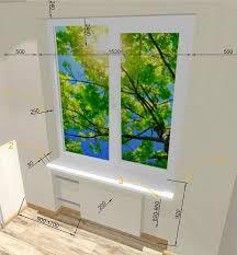Kork kommt als nachhaltiges material geeignet für bodenbeläge auch in das badezimmer zur frage. Der Abstand Vom Boden Zum Fenster Was Ist Der Standard Die Hohe Der Fensteroffnung Von Der Bodenhohe Nach Gost In Einem Privathaus