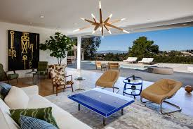 Beverly Hills Beauty Once Owned By Brady Bunch Producer Asks - Brady bunch house interior pictures