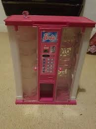 Clothing Vending Machine Awesome BARBIE CLOTHING VENDING Machine Full With Shoes Bags And